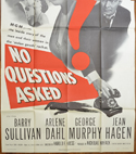 NO QUESTIONS ASKED – 3 Sheet Poster (BOTTOM)