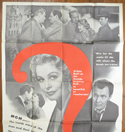 NO QUESTIONS ASKED – 3 Sheet Poster (TOP)
