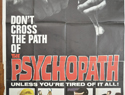 THE PSYCHOPATH – 3 Sheet Poster (3)