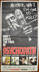 THE PSYCHOPATH – 3 Sheet Poster
