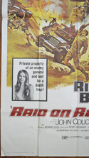 RAID ON ROMMEL – 3 Sheet Poster BOTTOM LEFT