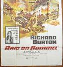 RAID ON ROMMEL – 3 Sheet Poster (BOTTOM)