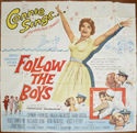 FOLLOW THE BOYS – 6 Sheet Poster
