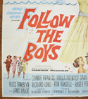 FOLLOW THE BOYS – 6 Sheet Poster – BOTTOM Left
