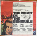 THE NIGHT OF THE GENERALS – 6 Sheet Poster
