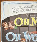 OH MEN! OH WOMEN! – 6 Sheet Poster – TOP Left