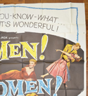 OH MEN! OH WOMEN! – 6 Sheet Poster – TOP Right