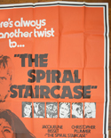 THE SPIRAL STAIRCASE – 6 Sheet Poster – TOP Right