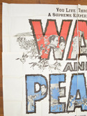 WAR AND PEACE – 6 Sheet Poster – TOP Left
