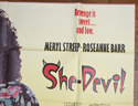 SHE-DEVIL – Subway Poster – TOP Right