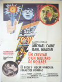 BILLION DOLLAR BRAIN Cinema French Grande Movie Poster