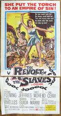 Revolt Of The Slaves– 3 Sheet Poster