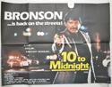 10 TO MIDNIGHT Cinema Quad Movie Poster