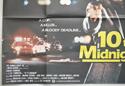 10 TO MIDNIGHT (Bottom Left) Cinema Quad Movie Poster