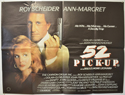 52 PICK-UP Cinema Quad Movie Poster