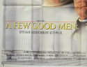 A FEW GOOD MEN (Bottom Left) Cinema Quad Movie Poster