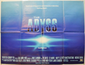 THE ABYSS Cinema Quad Movie Poster