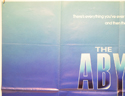 THE ABYSS (Top Left) Cinema Quad Movie Poster