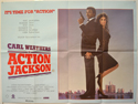 ACTION JACKSON Cinema Quad Movie Poster