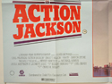 ACTION JACKSON (Bottom Left) Cinema Quad Movie Poster
