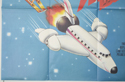 AIRPLANE II - THE SEQUEL (Bottom Left) Cinema Quad Movie Poster