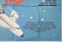 AIRPLANE II - THE SEQUEL (Bottom Right) Cinema Quad Movie Poster