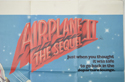 AIRPLANE II - THE SEQUEL (Top Right) Cinema Quad Movie Poster