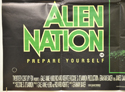 ALIEN NATION (Bottom Left) Cinema Quad Movie Poster