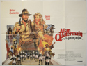 ALLAN QUATERMAIN AND THE LOST CITY OF GOLD Cinema Quad Movie Poster