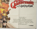 ALLAN QUATERMAIN AND THE LOST CITY OF GOLD (Bottom Right) Cinema Quad Movie Poster