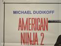 AMERICAN NINJA 2 (Top Left) Cinema Quad Movie Poster