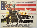 AMERICAN WARRIOR Cinema Quad Movie Poster