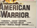 AMERICAN WARRIOR (Bottom Right) Cinema Quad Movie Poster