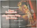 ANY WHICH WAY YOU CAN Cinema Quad Movie Poster