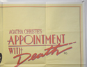 APPOINTMENT WITH DEATH (Top Right) Cinema Quad Movie Poster