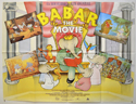 BABAR : THE MOVIE Cinema Quad Movie Poster