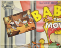 BABAR : THE MOVIE (Top Left) Cinema Quad Movie Poster