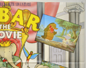 BABAR : THE MOVIE (Top Right) Cinema Quad Movie Poster