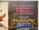 BACHELOR PARTY (Top Right) Cinema Quad Movie Poster