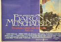 THE ADVENTURES OF BARON MUNCHAUSEN (Bottom Left) Cinema Quad Movie Poster
