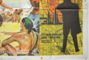 THE BLACK BUCCANEER  / MASTER SPY (Bottom Right) Cinema Quad Movie Poster