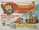 BLACKBEARD'S GHOST / OLD YELLER Cinema Quad Movie Poster
