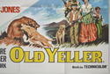 BLACKBEARD'S GHOST / OLD YELLER (Bottom Right) Cinema Quad Movie Poster