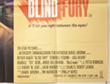 BLIND FURY (Bottom Right) Cinema Quad Movie Poster