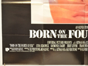 BORN ON THE FOURTH OF JULY (Bottom Left) Cinema Quad Movie Poster