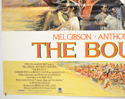 THE BOUNTY (Bottom Left) Cinema Quad Movie Poster