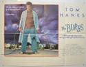 THE BURBS Cinema Quad Movie Poster
