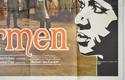 CARMEN (Bottom Right) Cinema Quad Movie Poster