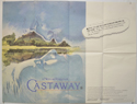 CASTAWAY Cinema Quad Movie Poster