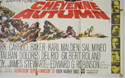 CHEYENNE AUTUMN (Bottom Right) Cinema Quad Movie Poster